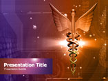 Animated Medical Logo Medical PowerPoint Template