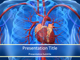 Cardiovascular System Medical PowerPoint Template
