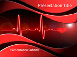 Heart Cardiology Medical PowerPoint Template