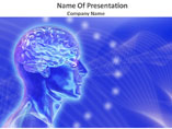 Animated Brain Medical PowerPoint Template