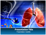 Lungs Medical PowerPoint Template