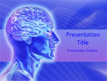 Neuroanatomy Medical PowerPoint Template