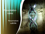 DNA Structure Medical PowerPoint Template