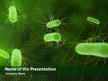 Micro Organisms Medical PowerPoint Template
