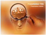 Brain Function Medical PowerPoint Template