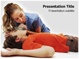 CPR Cardiopulmonary Medical PowerPoint Template