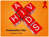 HIV Symptoms Medical PowerPoint Template