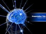 Brain Animated Medical PowerPoint Template