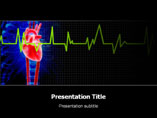 ECG Heart Medical PowerPoint Template