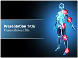 Arthritis x ray Medical PowerPoint Template