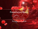 Blood Cells Platelets Medical PowerPoint Template