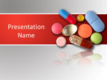 Medicine Pills Medical PowerPoint Template
