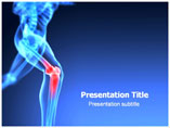 Orthopedic Knee Medical PowerPoint Template