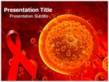 HIV Virus Medical PowerPoint Template
