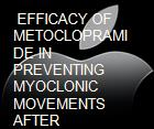 EFFICACY OF METOCLOPRAMIDE IN PREVENTING MYOCLONIC MOVEMENTS AFTER PROPOFOL INDUCTION powerpoint presentation