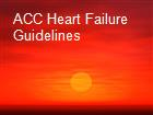 ACC Heart Failure Guidelines powerpoint presentation