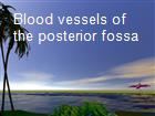 Blood vessels of the posterior fossa powerpoint presentation