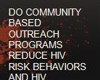 DO COMMUNITY BASED OUTREACH PROGRAMS REDUCE HIV RISK BEHAVIORS AND HIV INFECTION powerpoint presentation