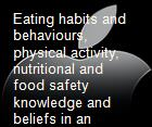 Eating habits and behaviours, physical activity, nutritional and food safety knowledge and beliefs in an adolescent Italian population powerpoint presentation