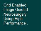Grid Enabled Image Guided Neurosurgery Using High Performance . powerpoint presentation