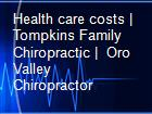 Health care costs | Tompkins Family Chiropractic |  Oro Valley Chiropractor powerpoint presentation