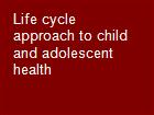 Life cycle approach to child and adolescent health powerpoint presentation