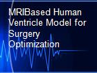 MRIBased Human Ventricle Model for Surgery Optimization powerpoint presentation