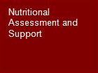Nutritional Assessment and Support  powerpoint presentation
