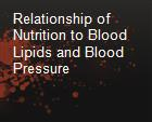 Relationship of Nutrition to Blood Lipids and Blood Pressure powerpoint presentation