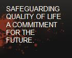 SAFEGUARDING QUALITY OF LIFE  A COMMITMENT FOR THE FUTURE. powerpoint presentation