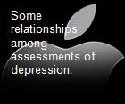 Some relationships among assessments of depression. powerpoint presentation